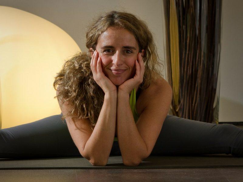 Sara Braga yoga hero